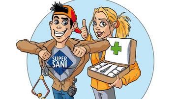 Landeswettbewerb der Schüler-Sanitätsdienste