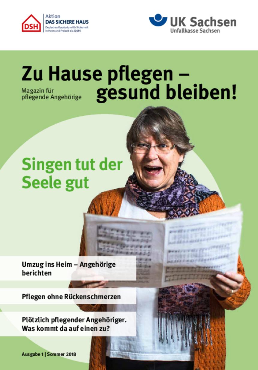 Titel vom Pflege-Magazin | Ausgabe 01/2018