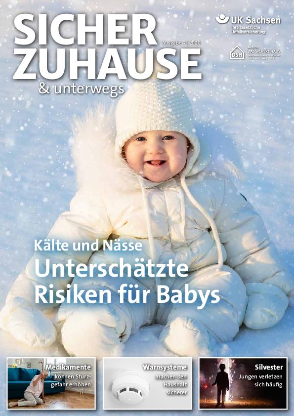 Titel von SICHER ZUHAUSE & unterwegs | Ausgabe 04/2020