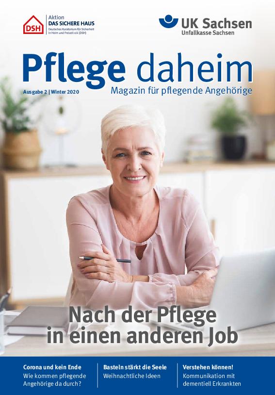 Titel vom Pflege-Magazin | Ausgabe 02/2020