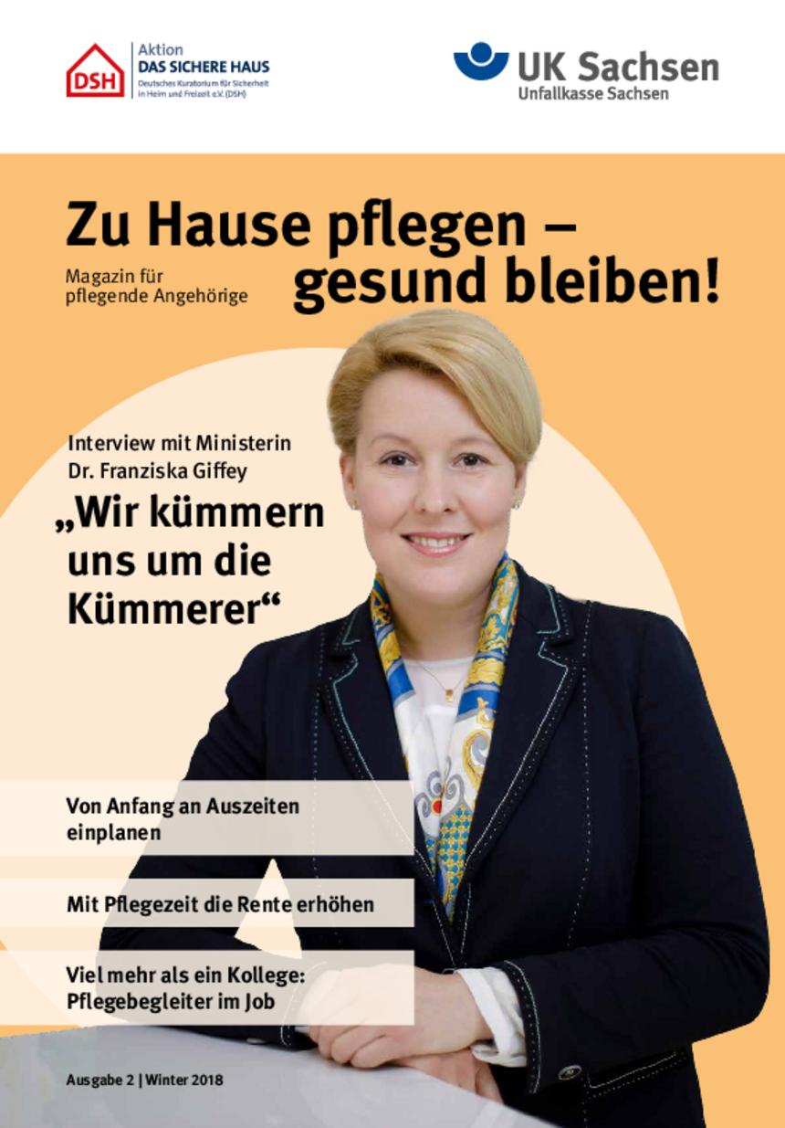Titel vom Pflege-Magazin | Ausgabe 02/2018
