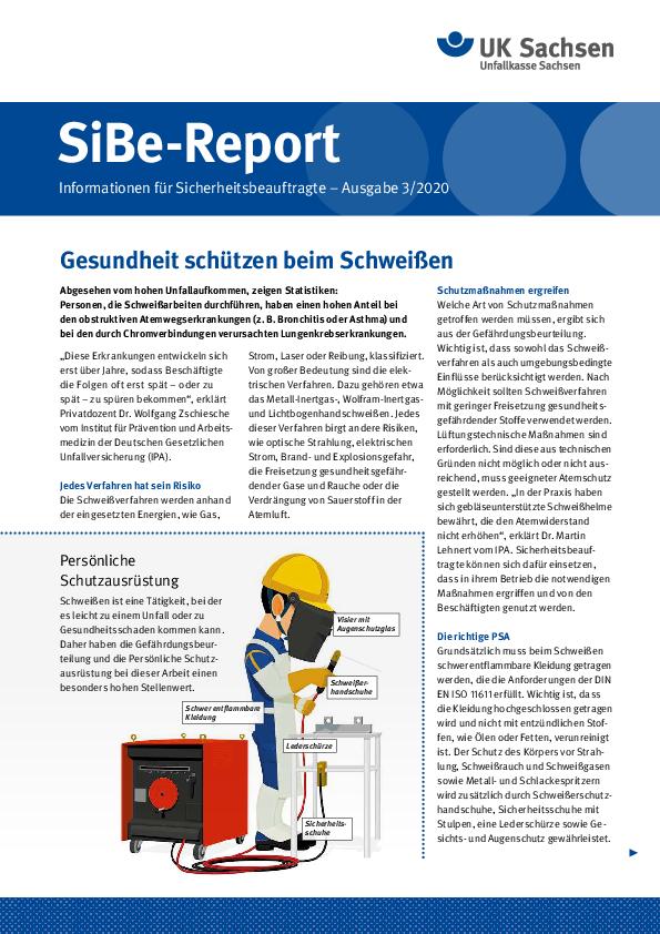 Titel vom SibeReport   Ausgabe 03/2020