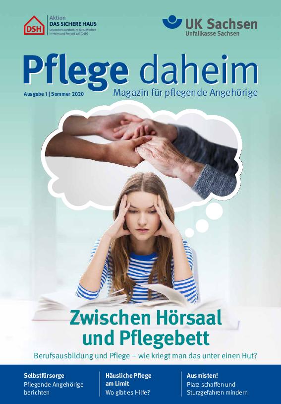 Titel vom Pflege-Magazin | Ausgabe 01/2020