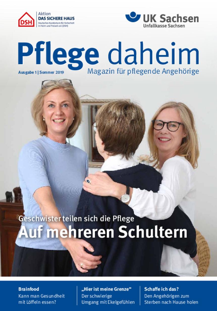 Titel vom Pflege-Magazin | Ausgabe 01/2019