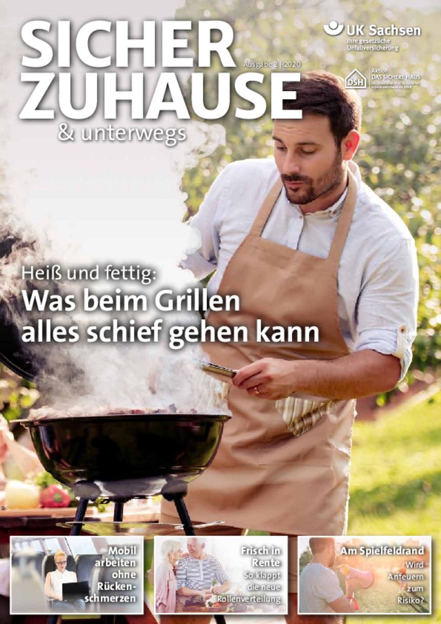 Titel von SICHER ZUHAUSE & unterwegs | Ausgabe 02/2020