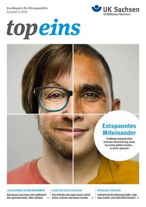 Titel vom topeins - Magazin für Führungskräfte | Ausgabe 05/2019