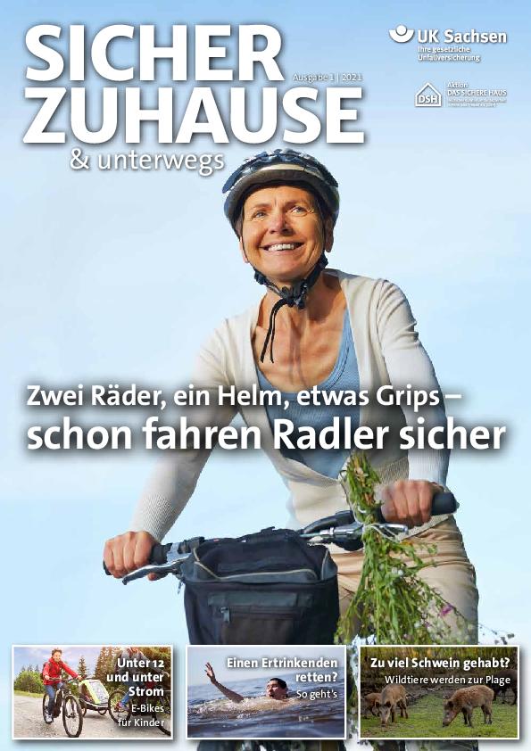 Titel von SICHER ZUHAUSE & unterwegs | Ausgabe 01/2021